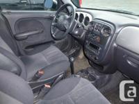 I have a 2005 Chrysler PT Cruiser that I am parting