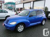 Blue / Gray 2005 Chrysler PT Cruiser 4dr Wgn         4