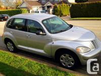 2005 Chrysler PT Cruiser, 4 cyl (great on gas),