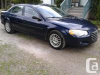 Make Chrysler Model Sebring Colour Blue Trans