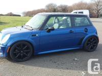 Make MINI Version Cooper S. Year. 2005. Colour. blue.