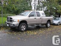 Make. Dodge. Version. Ram 3500 Club. Year. 2005.