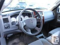 Make Dodge Model Dakota Year 2005 Colour Grey kms