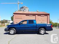 Make Dodge Model Dakota Year 2005 Colour Blue kms