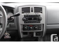 Make Dodge Model Dakota Year 2005 Colour Black kms