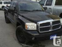 Offering my 2005 ext taxicab Dodge Dakota, V8, 4.7, as