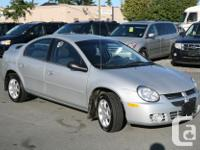 Make Dodge Model Neon Year 2005 Colour Silver kms