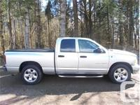 Make Dodge Model Ram 1500 Year 2005 Colour Silver kms