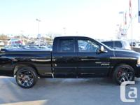 2005 Dodge Ram 1500 SRT10, Leather seat package,