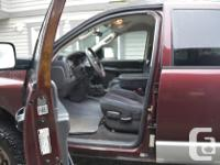 Make Dodge Model Ram 2500 Year 2005 Colour Burgundy