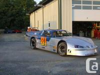 2005 EMS pro stock dirt car chassis #19 has OCFS