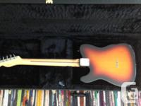 Made in USA Telecaster. This is a nice used instrument