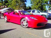 2005 Ferrari 430 Spider Power Windows, Rear Spoiler,