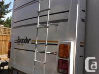Very well kept motorhome with 75,000kms (little use)