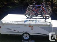 2005 Fleetwood Hard Top trailer with a 10' Box, Front