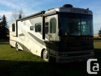 2005 Fleetwood Exploration 38ft Class-A Motorhome with