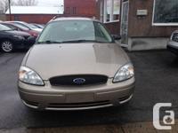 2005 Ford Taurus.Automatique.Com pletement Equipe.