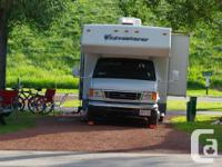 This motorhome is your ticket to wonderful camping