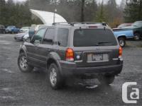 Make Ford Model Escape Year 2005 Colour Grey kms