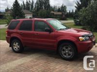 Make Ford Model Escape Year 2005 Colour Red kms 171808