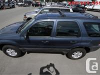 Make Ford Model Escape Year 2005 Colour Blue kms