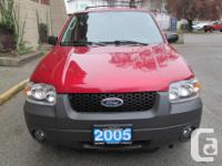 Make Ford Model Escape Year 2005 Colour Red kms 185000