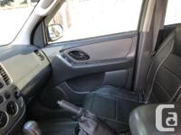 Make Ford Model Escape Year 2005 Colour Red kms 199635