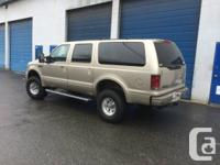2005 Ford Excursion Limited, 6.0L diesel, 5sp
