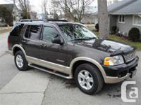 Norwich, ON 2005 Ford Explorer Eddie Bauer This fully