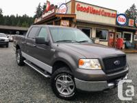Make Ford Model F-150 SuperCrew Year 2005 Colour Grey