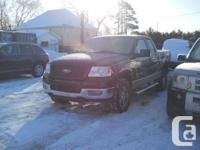 2005 F150 4.6L V8 291KMS 4X4 4 Door Seats 6 Black on