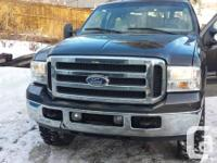 For sale 2005 ford f350 lariat 4x4 diesel engine crew