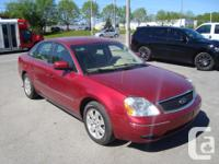 Make Ford Model Five Hundred Year 2005 Colour Burgandy