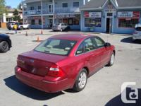 Make Ford Model Five Hundred Year 2005 Colour Red kms