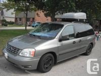 Ford 2005 Freestar SE, filled, tinted to regulation,