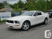2005 Ford Mustang 5 Speed, Power Windows, Privacy
