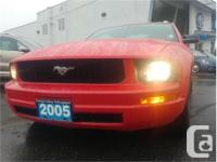 Make Ford Model Mustang Year 2005 Colour Red kms 99536