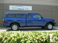 2005 FORD RANGER EXTENDED CAB...CANOPY! -SUPERCLEAN