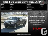 """2005 Ford Super Duty F-350 SRW Crew Cab 156"""" XL 4WD"""
