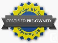 CERTIFIED PRE-OWNED Features May Include: (2) 20 lbs LP