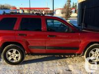 Make Jeep Design Grand Cherokee Year 2005 Colour red