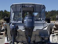 Selling my 2005 Hewescraft Searunner 180. I am the
