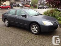 Selling my Honda Accord EX-L. Fully loaded with leather