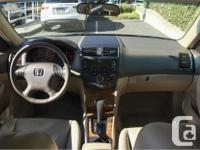 Make Honda Model Accord Year 2005 Colour Red kms