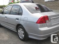 Make Honda Model Civic Year 2005 Colour SILVER kms