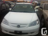Make Honda Model Civic Year 2005 Colour WHITE kms