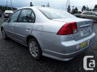 Make Honda Model Civic Year 2005 Colour grey kms for sale  British Columbia