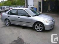 2005 Honda Civic Sedan  - 4 door sedan, 5 speed manual