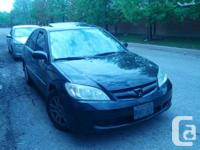 Selling pre-owned 2005 Honda Civic equipped with alloy