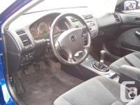 Make Honda Model Civic Si Year 2005 Colour Blue kms